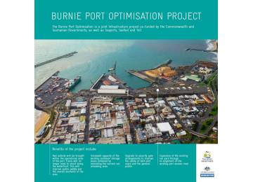 $12 million project to optimise Burnie Port now complete