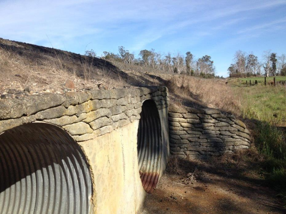 Culverts Works Package (1) - South, Western, Fingal & Bell Bay Lines