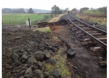 TasRail Flood Recovery Update