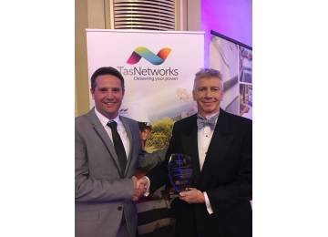 TasRail Wins Business Excellence Award