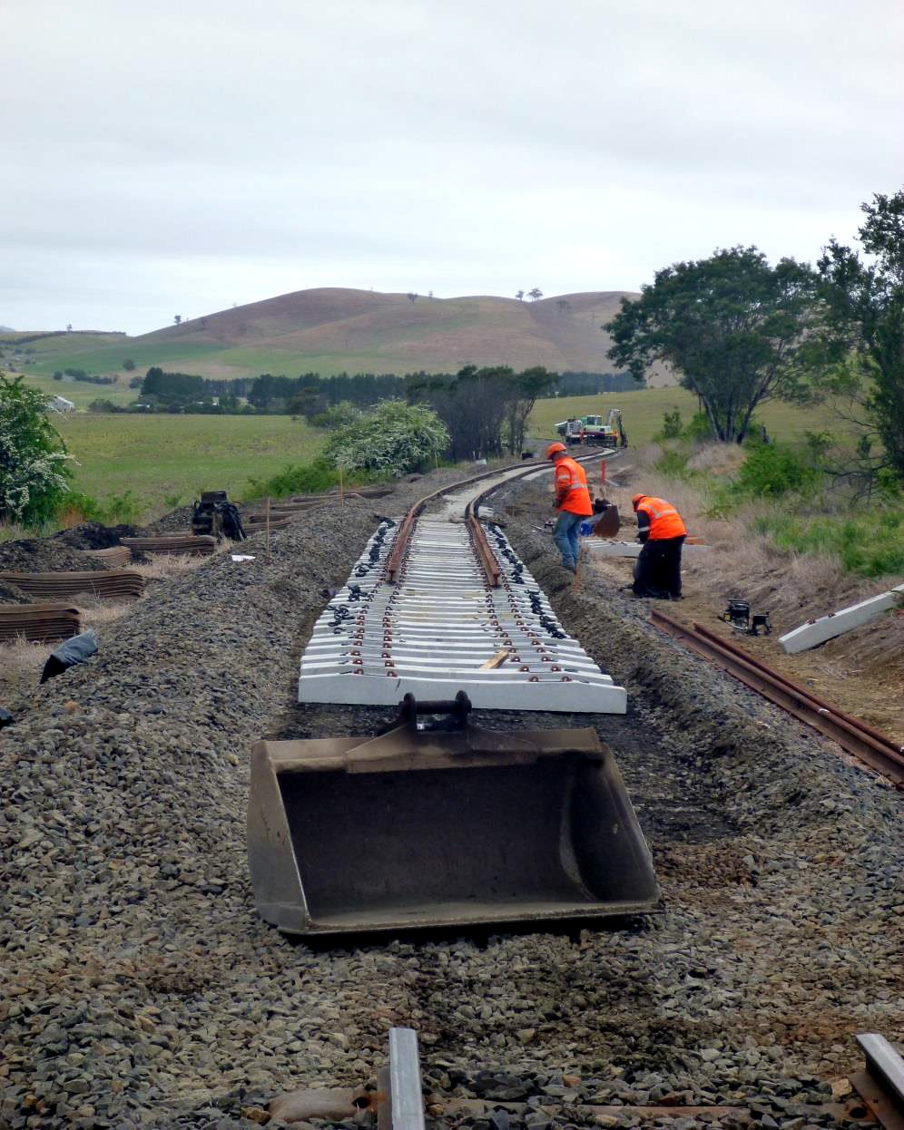 Melba & Main Lines Quick Start Track Works
