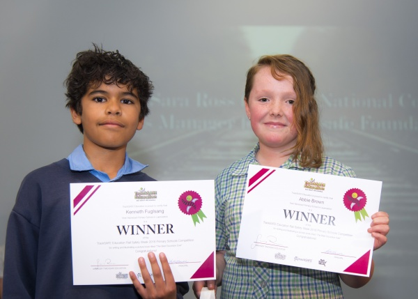 Norwood Primary students win National Rail Safety Competition