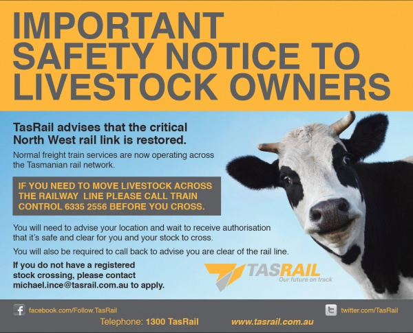 Stock Crossing  Licences