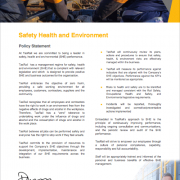 Safety, Health and Environment Policy image